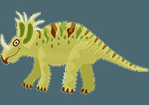 スティラコサウルスのクリップアート