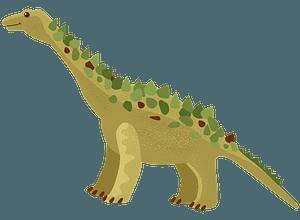 ティタノサウルスのクリップアート