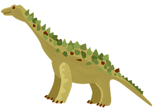 Titanosaur clipart