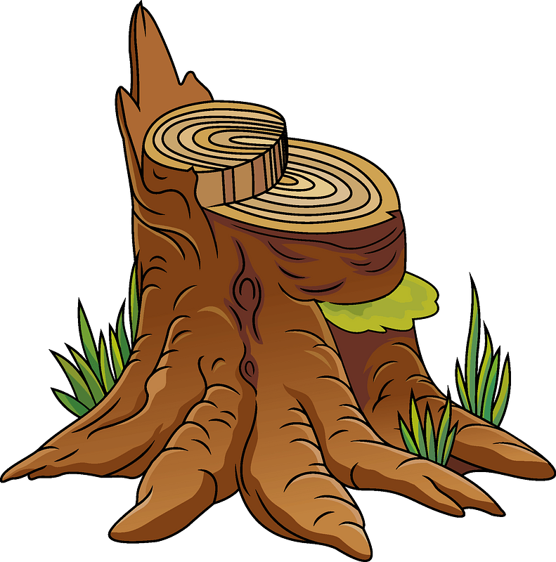 Tree Trunk Clip Art