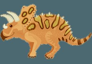 トロサウルスのクリップアート