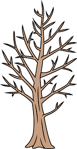 Winter tree clipart