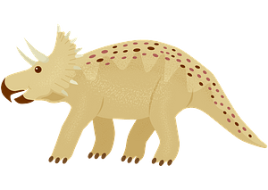 Triceratops clipart