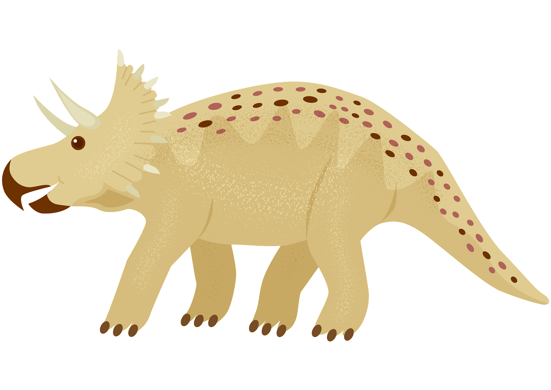 Horn Triceratops Stock Vector Illustration And Royalty Free Horn Triceratops  Clipart