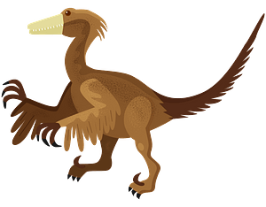 Troodon clipart