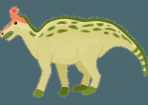 チンタオサウルスのクリップアート