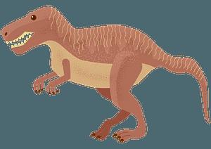 ティラノサウルスのクリップアート