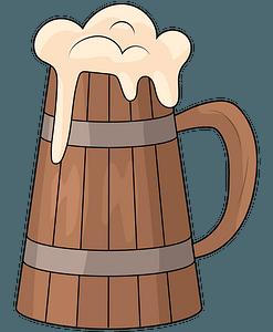 Beer mug clipart