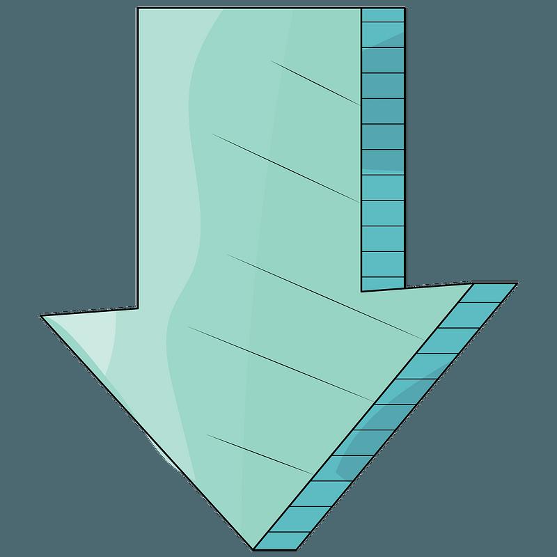 Resultado de imagen de flecha hacia abajo