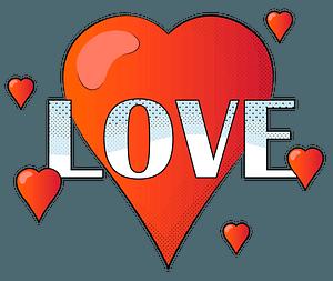 Любовна листівка кліпарт
