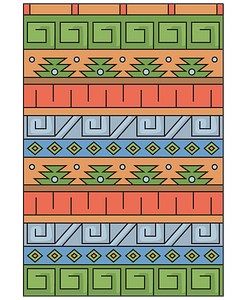 Inka pattern clipart