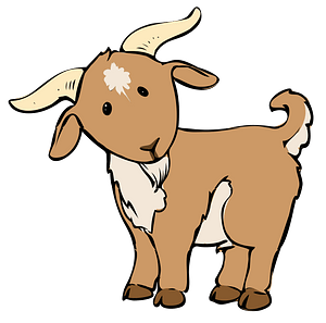 Cartoon Goat clipart