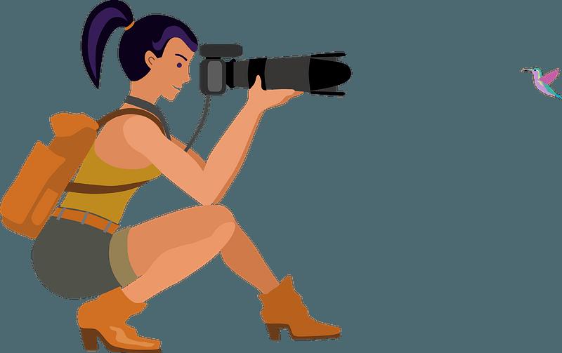 Photographer clipart