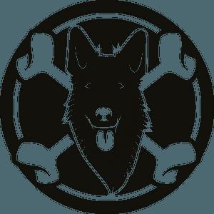 Dog bones logo clipart