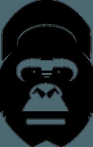 Gorilla head clipart