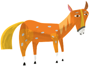 Кінь кліпарт
