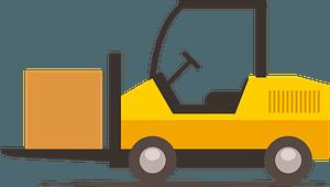Storage facility car clipart