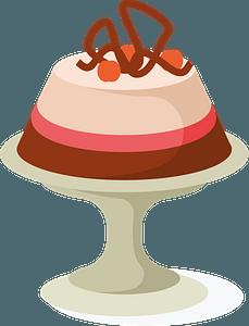 Dessert cake clipart