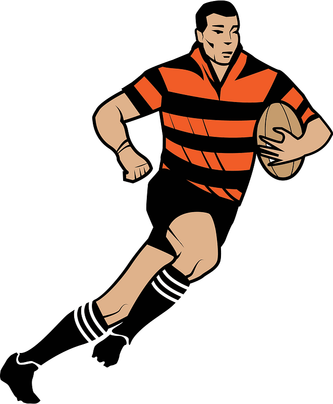 Rugby Player Clipart Free Download Transparent Png Creazilla