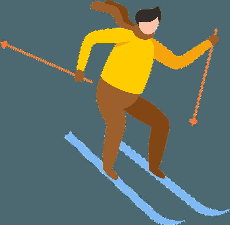 Skier Clipart Free Download Transparent Png Creazilla