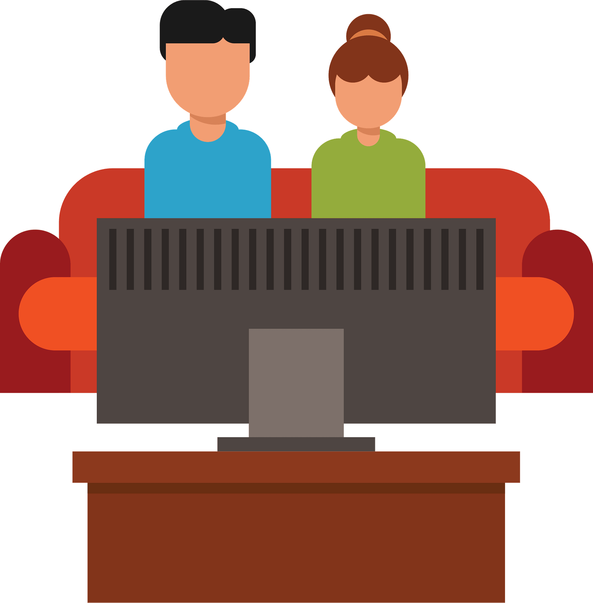 Man And Woman Watching Tv Clipart Free Download Transparent Png Creazilla Browse this featured selection from the web for use in websites, blogs, social media and your other products. man and woman watching tv clipart free