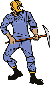 Miner clipart