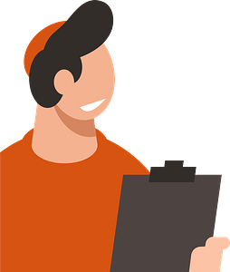 Storekeeper delivery clipart