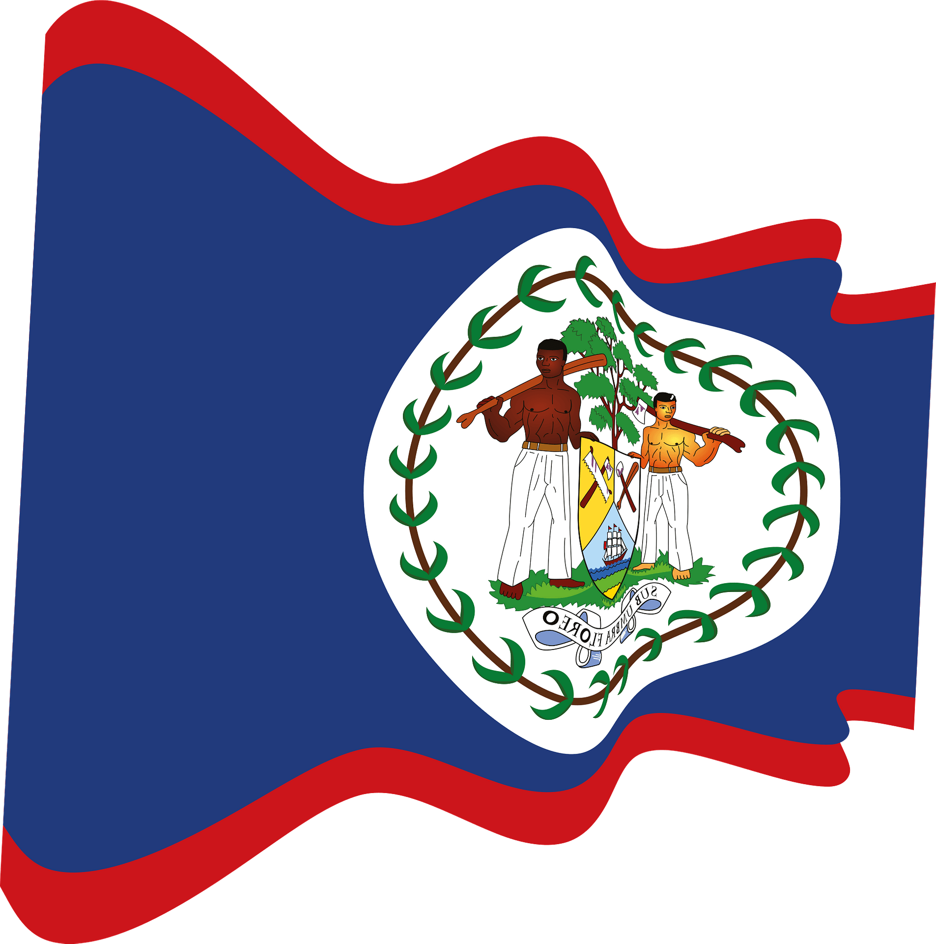 Belize Wavy Flag Clipart Free Download Transparent Png Creazilla
