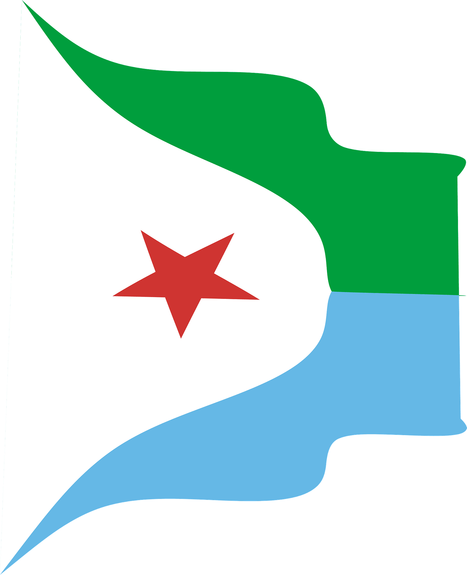 Djibouti Wavy Flag Clipart Free Download Transparent Png Creazilla