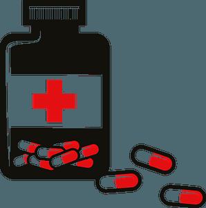 Pills bottle clipart