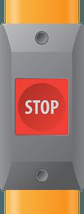 Bus stop button clipart