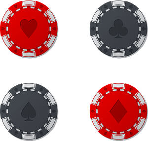 Casino tokens clipart