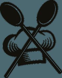 Chef restaurant logo clipart