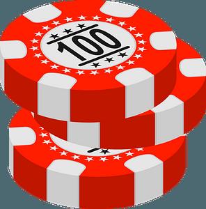 Gambling chips clipart