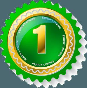 Green badge clipart