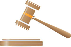 Hammer justice clipart
