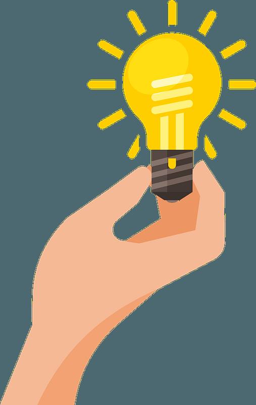 light bulb idea clipart free download transparent png creazilla https creazilla com pages 4 license information