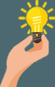 Light bulb idea clipart