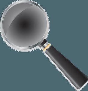 Magnifier clipart