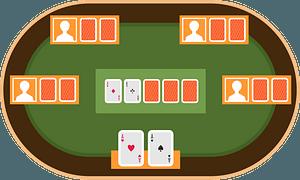 Online poker clipart