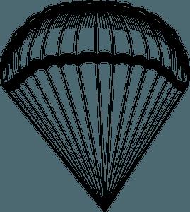 Parachute clipart