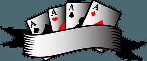 Poker aces clipart