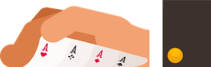 Poker cards clipart