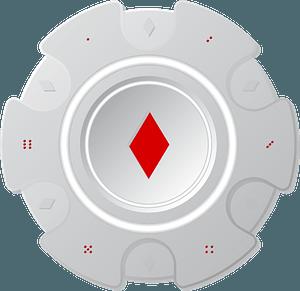 Poker chip clipart