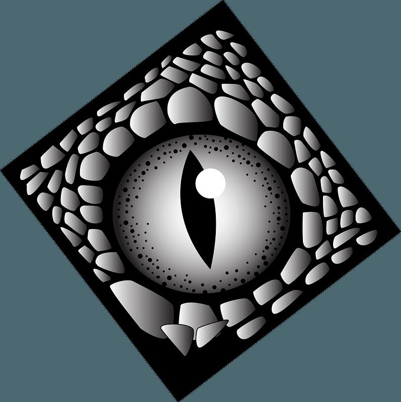 Snake eye clipart