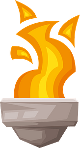 Torch clipart