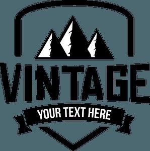 Vintage badge clipart