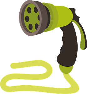 Watering hose clipart