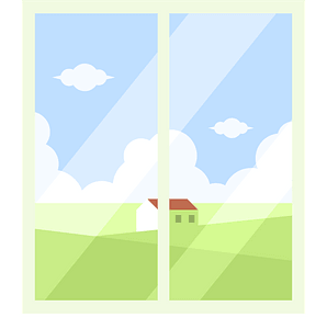 Window view clipart