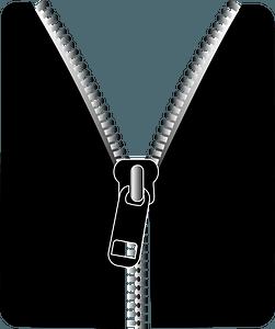 Zipper clipart